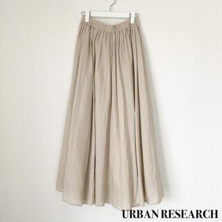 URBAN RESEARCH - URBAN RESEARCH アーバンリサーチ ギャザースカート