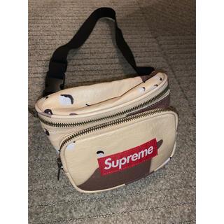 Supreme - supreme camo bag レザー  ウエスト ポーチ バッグ カモ柄
