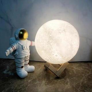 月のランプ テーブルランプ ルームライト 常夜灯 授乳ライト ベッドサイドランプ(その他)