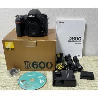 Nikon - NiKON ニコン D600 フルサイズ ボディ