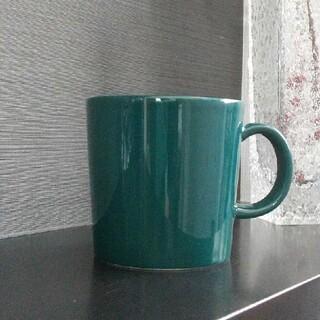専用ARABIA ダークグリーン マグカップ
