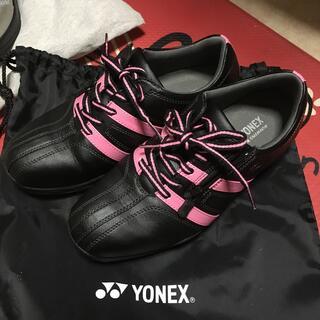 ヨネックス(YONEX)のYONEX power cushion ゴルフシューズ 23(シューズ)