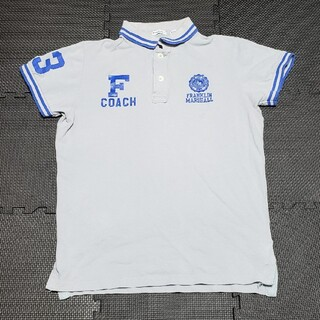 FRANKLIN&MARSHALL - フランクリン マーシャル ロゴプリント 半袖ポロシャツ