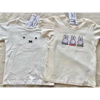 しまむら - miffy 半袖tシャツ ホワイト 白色