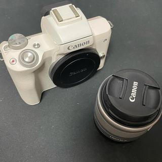 キヤノン(Canon)のCANON EOS KISS M レンズキット(ミラーレス一眼)