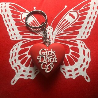 GDC - 超人気レッドgirls don't cryGDC HEART KEYCHAIN