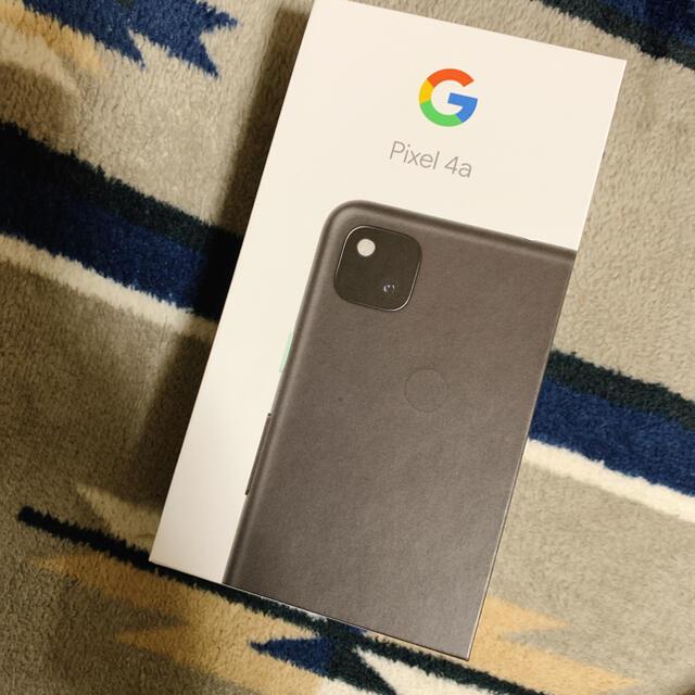 Google Pixel(グーグルピクセル)のGoogle Pixel 4a スマホ/家電/カメラのスマートフォン/携帯電話(スマートフォン本体)の商品写真