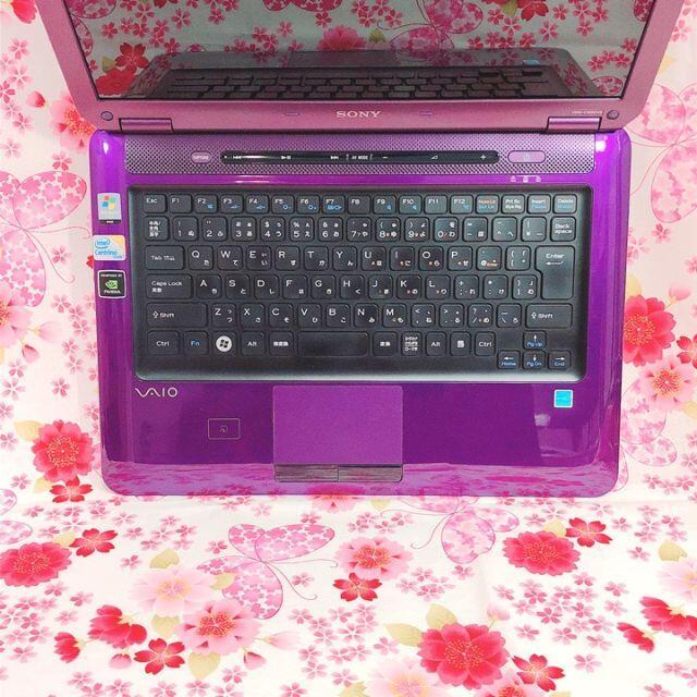 SONY(ソニー)の限定モデル♪ノートパソコン♪Webカメラ♪初心者も安心♪Win10 スマホ/家電/カメラのPC/タブレット(ノートPC)の商品写真