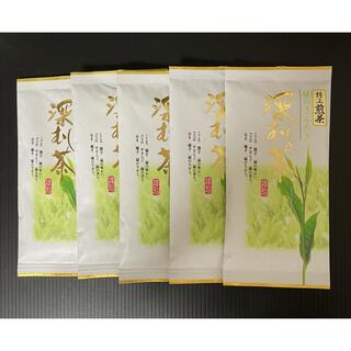 静岡県産 深蒸し茶 特上煎茶 100g 5セット