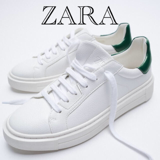 ZARA - 新品タグ付き ZARA  スニーカー  24.5