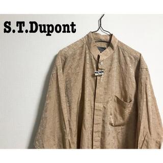 エステーデュポン(S.T. Dupont)のS.T.Dupont 壁画 総柄 柄シャツ スタンドカラー ビッグシャツ 伊勢丹(シャツ)
