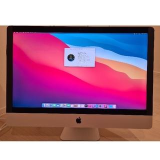 アップル(Apple)のApple iMac 27インチ Retina 5K late 2015 訳あり(デスクトップ型PC)
