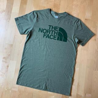 THE NORTH FACE - TheNorthFace ザノースフェイス ロゴプリントTシャツ グリーン M