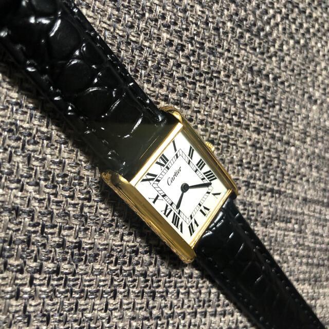 Cartier(カルティエ)の【ヴィンテージ】カルティエ Cartier マストタンク LM 腕時計 レディースのファッション小物(腕時計)の商品写真