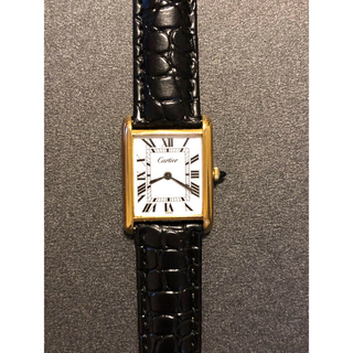 Cartier - 【ヴィンテージ】カルティエ Cartier マストタンク LM 腕時計