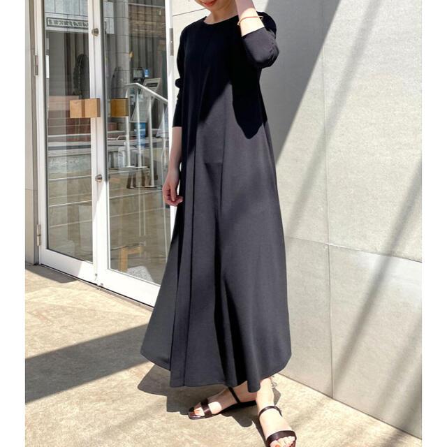 mystic(ミスティック)の♡omekashi Önf(オンフ) カットジョーゼットドレス♡ レディースのワンピース(ロングワンピース/マキシワンピース)の商品写真