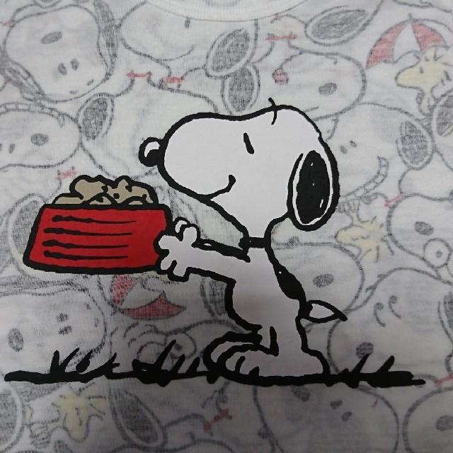 SNOOPY(スヌーピー)のスヌーピー シャツ キッズ/ベビー/マタニティのキッズ服男の子用(90cm~)(Tシャツ/カットソー)の商品写真