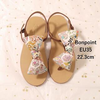 Bonpoint - 新品未使用 ボンポワン ss20 EU35 22.3cm リバティ サンダル