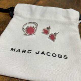 マークジェイコブス(MARC JACOBS)のMARC JACOBS  正規品 ピアス+リング セット(ピアス)