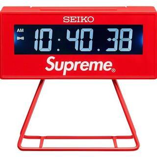 シュプリーム(Supreme)のSupreme Seiko Marathon Clock Red(置時計)