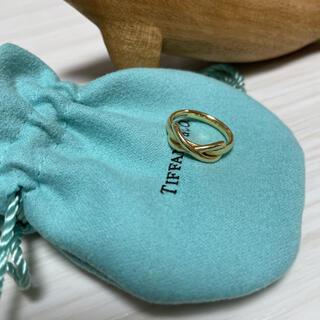Tiffany & Co. - 【ティファニー】インフィニティ K18リング