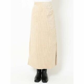 アングリッド(Ungrid)のungrid コーデュロイスカート(ロングスカート)