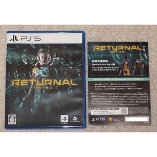 PlayStation - PS5 Returnal リターナル コード未使用