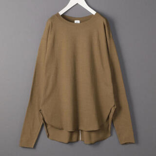 BEAUTY&YOUTH UNITED ARROWS - 6(ROKU) ◆ BACK STITCH PULLOVER