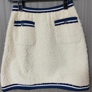 シャネル(CHANEL)のCHANEL シャネル スカート 正規品 36(ミニスカート)