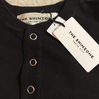 シンゾーン(Shinzone)のShinzone HENLEY WAFFLE カットソー 茶 bshop(カットソー(長袖/七分))