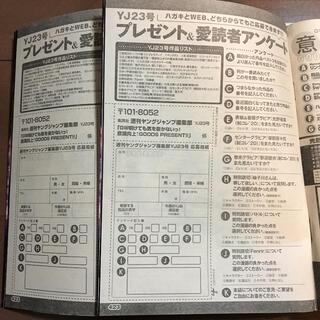 集英社 - 光野有菜 QUOカード クオカード 抽選 応募券 2枚セット ヤングジャンプ