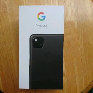 Google Pixel - Google Pixel 4a  JustBlack 128 GB 新品未使用