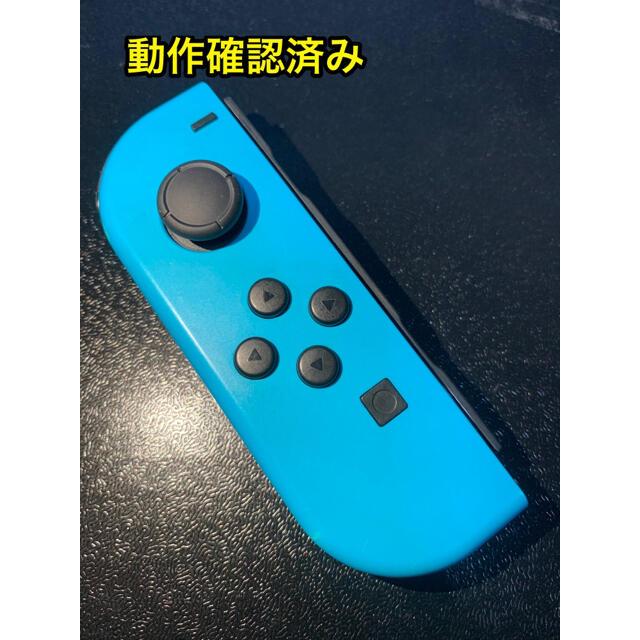 Nintendo Switch(ニンテンドースイッチ)のNintendo Switch Joy-Con ネオンブルー (L)ジョイコン左 エンタメ/ホビーのゲームソフト/ゲーム機本体(家庭用ゲーム機本体)の商品写真