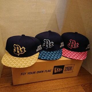オリックスバファローズ(オリックス・バファローズ)のオリックスバファローズ 宮崎キャンプ 帽子 3色セット(記念品/関連グッズ)