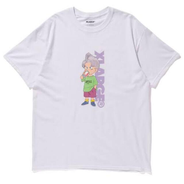 XLARGE(エクストララージ)のXLARGE ドラゴンボール トランクス ホワイト Lサイズ 美品 メンズのトップス(Tシャツ/カットソー(半袖/袖なし))の商品写真