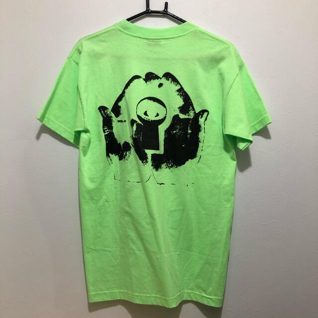 Supreme(シュプリーム)のPSYCHWORLD Tシャツ 蛍光グリーン Mサイズ メンズのトップス(Tシャツ/カットソー(半袖/袖なし))の商品写真