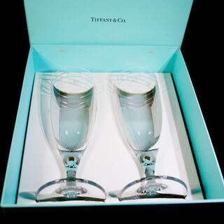 Tiffany & Co. - 【極美品ペア 送料込み】ティファニー シャンパングラス 箱あり