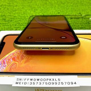 アップル(Apple)の再出品 iPhoneXR64GB Simフリー 最大容量100%色々付属品あり5(スマートフォン本体)