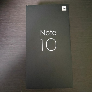ANDROID - Mi Note 10