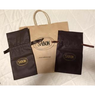 サボン(SABON)のSABON 紙袋 ショップバッグ プレゼントバッグ(ショップ袋)