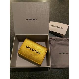 バレンシアガ(Balenciaga)の国内完売商品☆バレンシアガ ミニ 財布 ゴールド(財布)