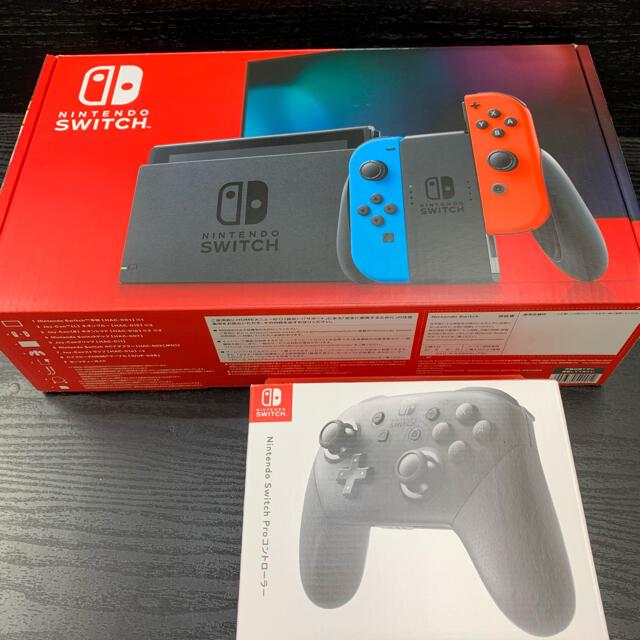 Nintendo Switch(ニンテンドースイッチ)のたか様専用 エンタメ/ホビーのゲームソフト/ゲーム機本体(家庭用ゲーム機本体)の商品写真