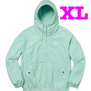 Supreme - 18SS Supreme Cotton Hooded Raglan Jacket