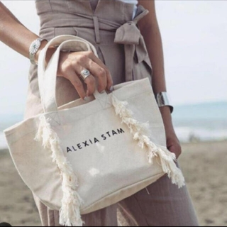 ALEXIA STAM - アリシアスタン フリンジトートバッグ