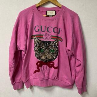 Gucci - gucci グッチ 猫柄 スウェット