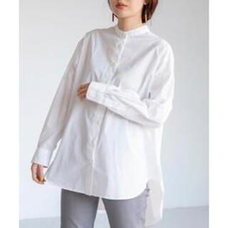 coen - コーエン 人気バンドカラーシャツ