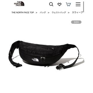 THE NORTH FACE - 新品 タグ付き ノースフェイス スウィープ NM72100 ブラック