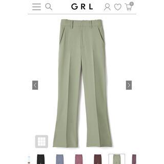 GRL - グレイル センタープレスパンツ お値下げ中