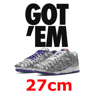 "NIKE - NIKE WMNS DUNK LOW ""MADE YOU LOOK"" W27"
