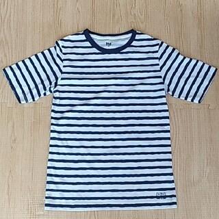 ヘリーハンセン(HELLY HANSEN)のボーダーTシャツ M HELLY HANSEN ネイビー(Tシャツ(半袖/袖なし))